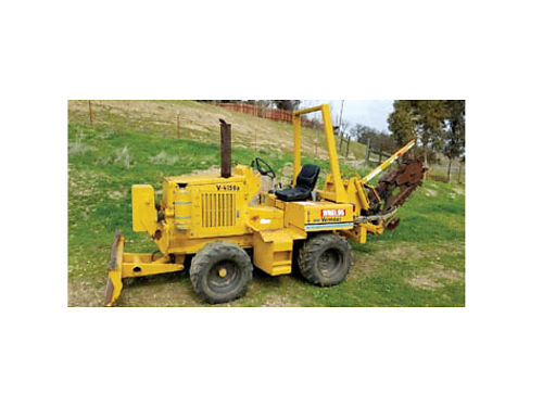 1996 VERMEER V4150A TRENCHER, 1196 HRS. TRENCH ...