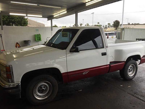 1992 GMC SIERRA short bed stepside 6 cyl limited edtn pw pdl cc air htr 80k miles afterma