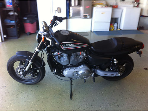 2009 HARLEY XR1200 only 9384 orig miles Supertrap exhaust clean title never down pink in hand