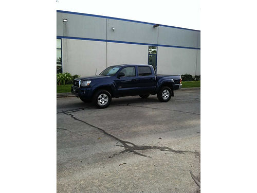 2006 TOYOTA TACOMA DOUBLE CAB 4 dr Pre-Runner 6 cyl 40 L auto AC 104K mi 1 owner slvg ttle