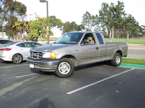 2004 FORD F150 EXT CAB Standard 6 cyl shortbed AC runs good 157K mi great for work super su