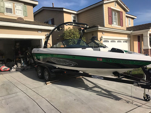 2006 MALIBU RIDE XTI Low hrs - 198 Manson 335 HP tower speaker board sky rac
