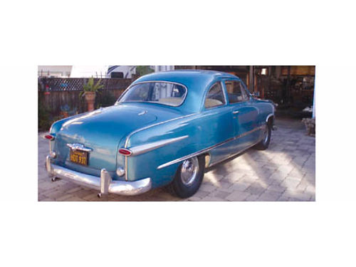 1949 FORD CLUB COUPE 6 cyl 3spd on the column woverdrive new brakes tires  window rubber nice