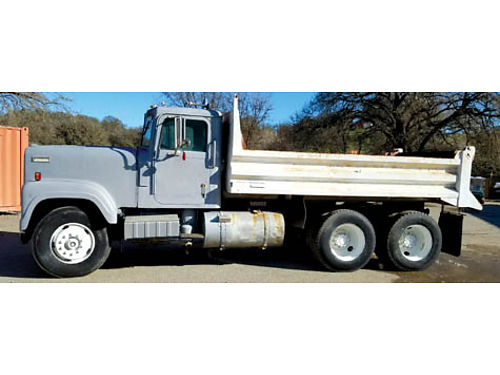 1978 INTERNATIONAL 4300 Load Star 10 Wheel Dump Truck 350 Cummings Spec Veh Tag Very Good Mechanic