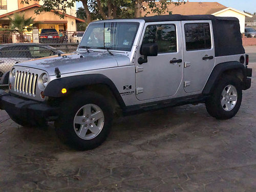 2008 JEEP WRANGLER soft top Convt 5 spd 6cyl maintenance kept up xlnt cond in  out selling d