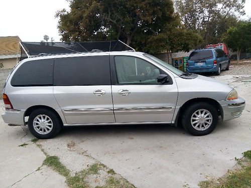 2000 FORD WINDSTAR auto V6 7 pass only 90K orig miles AC stereo good cond runs good everyth