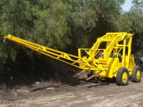 SUPER 8 CARY LIFT PETTIBONE gd running cond 18ft boom 24ft lift grt for cstm homesproduction fr