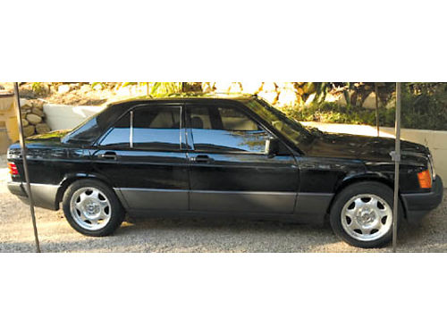 1990 MBZ 190E 26 leather fully loaded sunroof runs great a lot of new parts everything works