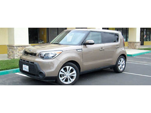 2014 KIA SOUL auto 4cyl 4dr all power sunroof 52K mi AC CD stereo well maint great on gas