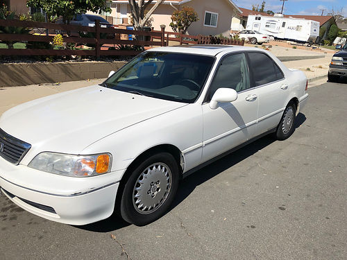 1996 ACURA RL 35L runs good clean 1 owner cln title fully loaded pw pdl ps sunroof tint