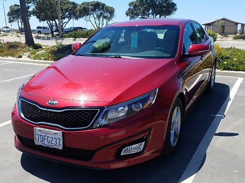 2014 KIA OPTIMA auto 4 cyl 24K miles one owner well maint all power factory warranty AC CD