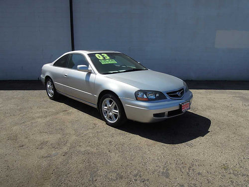2003 ACURA CL 015508 Type S cpe 2dr auto 6cyl 32 all pwr 106K orig mi snrf AC new tires