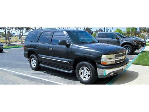 2004 CHEVY TAHOE auto V8 3rd seat all power HID lights new tires battery smogged Navi CD