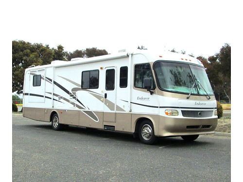2002 HOLIDAY RAMBLER ENDEAVOR 36', ONE OWNER, ...