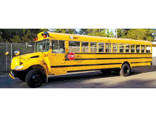 GREAT DEAL 2010 Conventional Bus auto 71 passenger with only 39338 miles great cond 20000 c