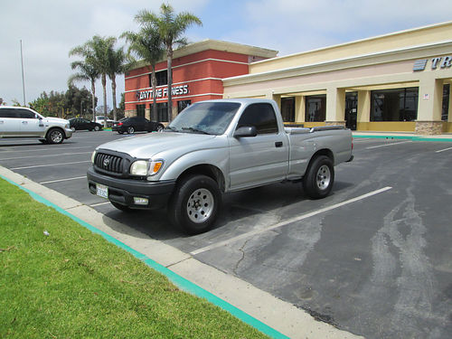 2002 TOYOTA TACOMA auto 4cyl good cond new tires wspare 139K mi bedliner AC stereo runs gr