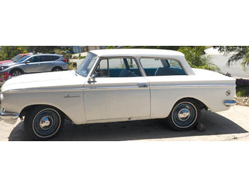 1961 RAMBLER AMERICAN SUPER Complete new Interior painted dash  steering wheel new rear end tir