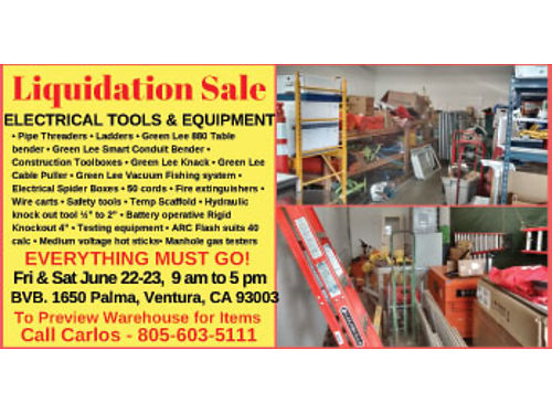 LIQUIDATION SALE FRI  SAT JUNE 22  23 9 AM TO 5 M EVERYTHING MUST GO ATTE