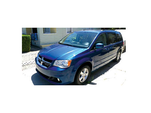2011 DODGE GRAND CARAVAN Crew model great cond super clean 107K mi In Sync in dash syst AC sto