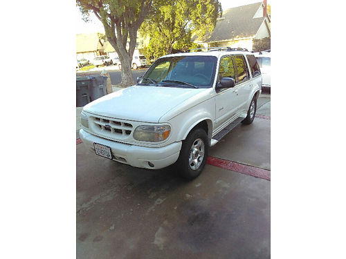 2000 FORD EXPLORER auto ac xlnt cond drive it everything works perfect on it passed smog habl