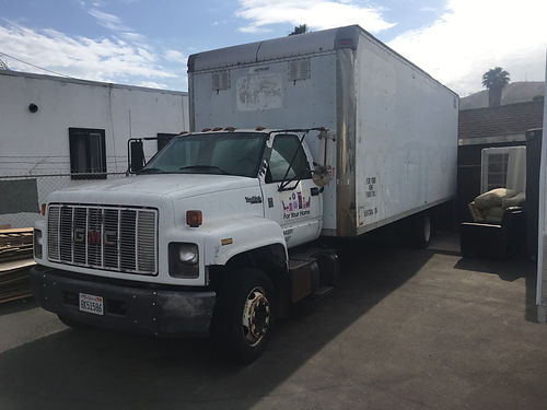 1994 GMC TOP KICK 24 BOX TRUCK diesel Automatic 358K miles asking price 3500