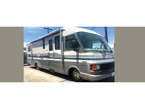1992 PACE ARROW FLEETWOOD 33 Great condition Recently RV serviced 48K miles 18999 obo 626-84