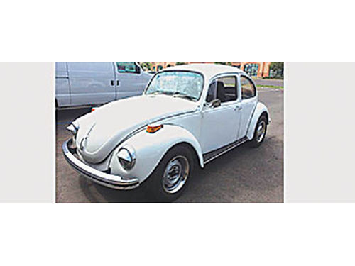 1971 VOLKSWAGEN BEETLE - 95 restored new brakes- paint- tires- interior 5500