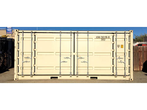 20 NEW OPEN SIDE CONTAINER Yes the whole side opens in addition to one end Buy for 4785 Rent f