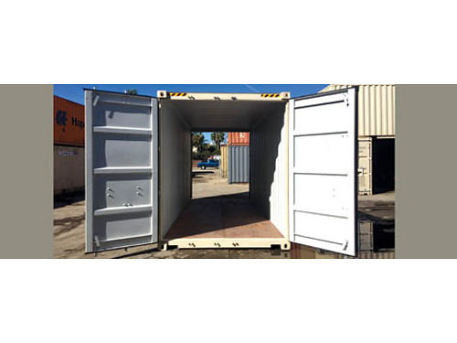 20 NEW HIGH CUBE DOUBLE DOOR STORAGE CONTAINER Buy for 3495Rent for 120month