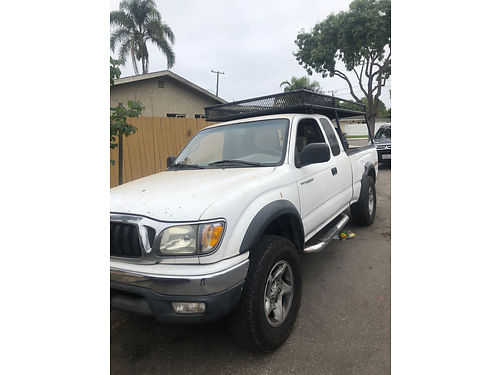 2004 TOYOTA TACOMA EXT CAB Pre-Runner auto V6 AC CD all power smogged current reg new tires