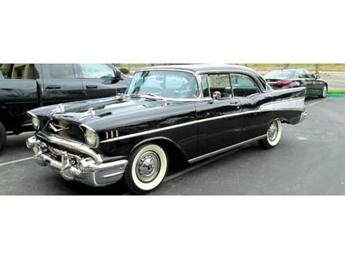 1957 CHEVY BEL AIR SPORT 4 dr HT 283 59K orig mi all orig orig family owned classic CA only c