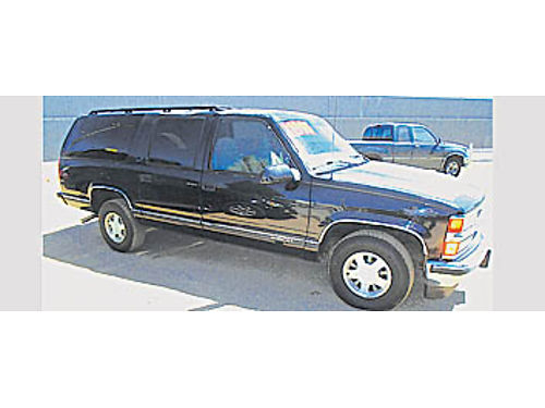 1999 CHEVY SUBURBAN - 4X2 7 PASS 570147 570147 1995 DW Auto Sales Call for more info 805-5