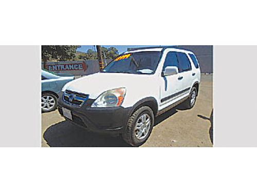 2004 HONDA CRV - super clean high miles 049820 3995 DW Auto Sales Call for more info 805-55