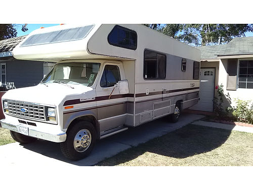 1989 FORD TIOGA 26 auto V8 Class C sleeps 6-7 fully self contained 50K orig miles dual awnin
