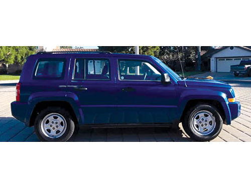 2009 JEEP PATRIOT auto wOD air PS clean title smog cert runs xlnt PB ABS CD 4 cyl 20L
