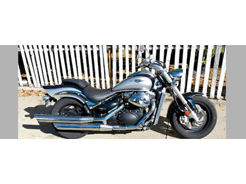2008 SUZUKI BOULEVARD M50 800 cc shaft drive low miles - 10K orig adult owner reg to July 2019