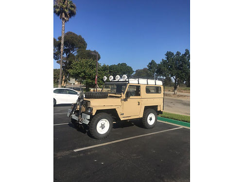 1973 LAND ROVER SERIES III AIR PORTABLE