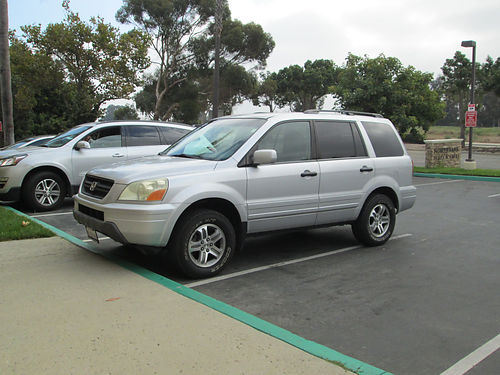 2004 HONDA PILOT AWD auto 6 cyl all power AC stereo Navigation tow hitch 3rd row seating l