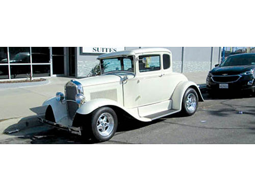 1930 FORD MODEL A COUPE 350 Tremec 5 spd 9 411 rear air condition FRT disc