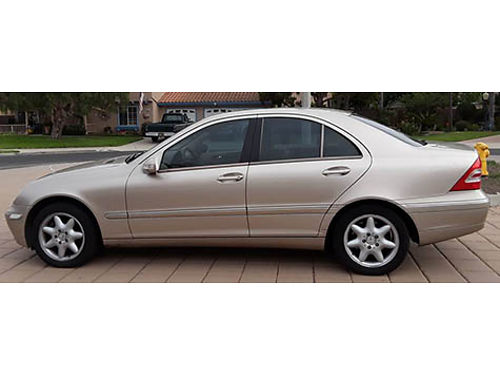 2003 MBZ C240 4 MATIC 4 dr auto OD V6 26L pseatsac airbags snrf pw pm pdl ps pb ABS