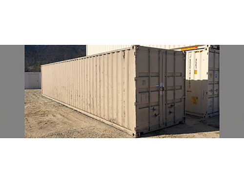 40' CONTAINER, WIND/WATER TIGHT, GOOD DOORS/ROOF/RUBBER. OLDER ...