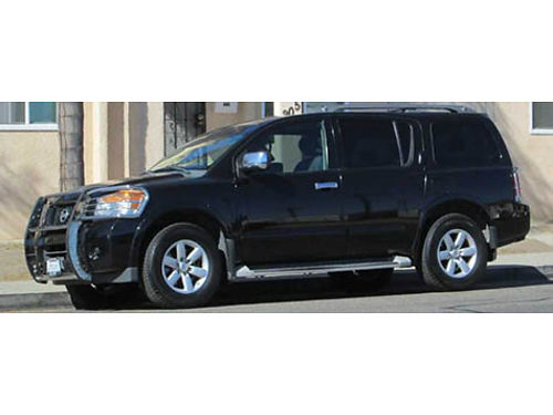 2010 NISSAN ARMADA auto V8 fully loaded bull guard nice Michellins AC tow pkg 144K mi well