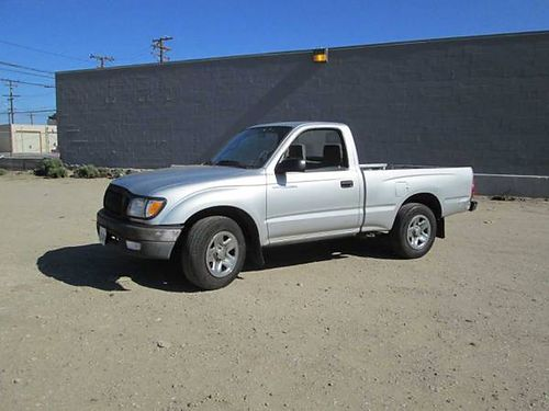 2002 TOYOTA TACOMA 5 spd runs xlnt 151K mi CD 35MPG good cond in  out 3