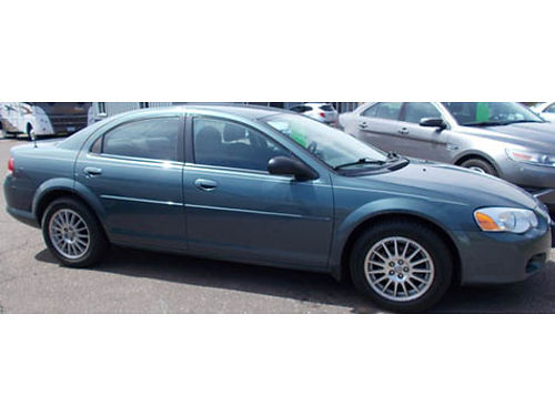 2006 CHRYSLER SEBRING TOURING auto 4cyl 4dr fully loaded AC CD 90K mi well maint very clean