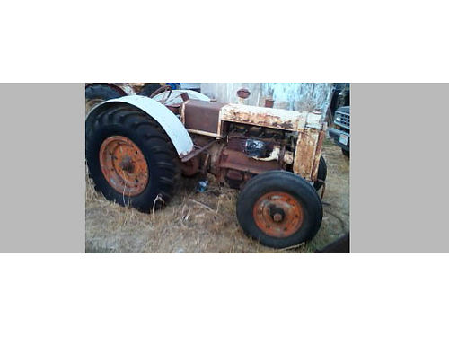 1936 CASE TRACTOR, BOTH MODEL C-O (ORCHARD), ...