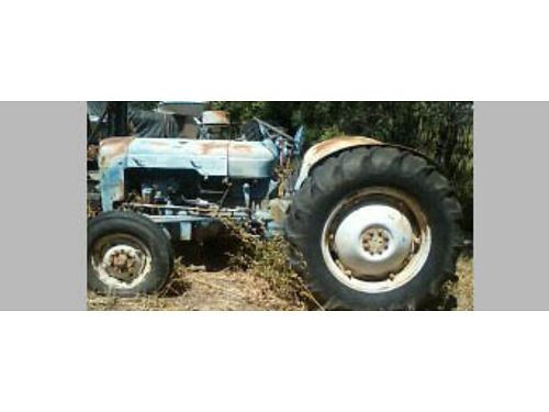 FORD 8N TRACTOR 4 spd have disc and scraper 2 spd Sherman transmission 2500or will sell sepera