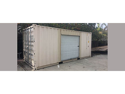 20 ONE TRIP CONTAINER with side roll up door Xlnt cond 3800obo