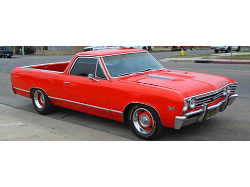 1967 CHEVY EL CAMINO DELUXE 396 fully loaded auto V8 2 Spd powerglide pw k
