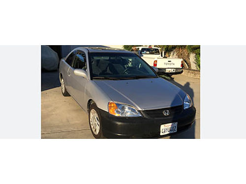 2002 HONDA CIVIC 2dr auto 4cyl good brks tires sunroof CD AC everything works great reg to