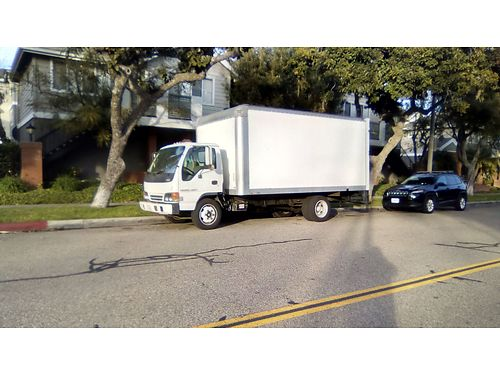 2000 ISUZU NPR BOX TRUCK new 18 box 10000 lbs GVW auto diesel low mi rear roll up door run